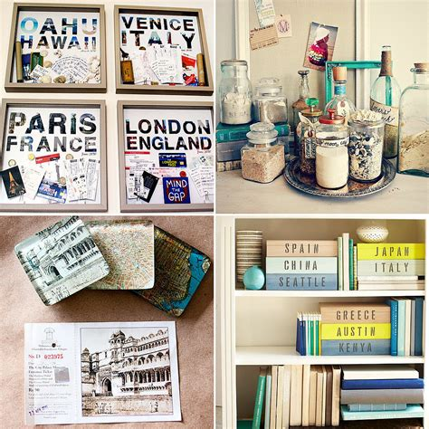 Travel Themed Office Decor how to display travel souvenirs popsugar smart living
