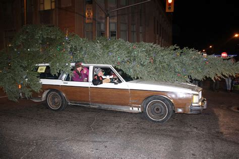 griswold christmas tree on the car vacation tree on car 2018