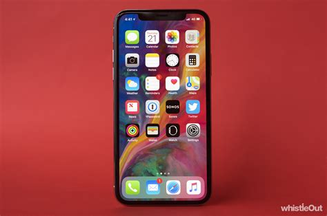 apple x review apple iphone x review whistleout