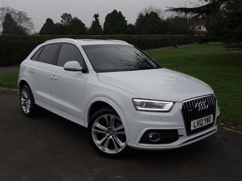 S Line Audi Q3 by Used Ibis White Audi Q3 For Sale Essex