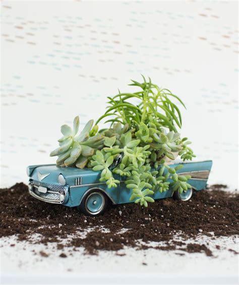 Car Planters by Vintage Car Planter Diy Sensational Succulents