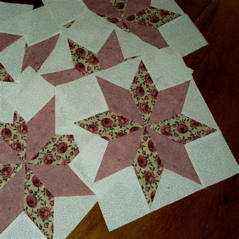 quilt pattern eight pointed star 12 inch quilt blocks 8 point star pattern