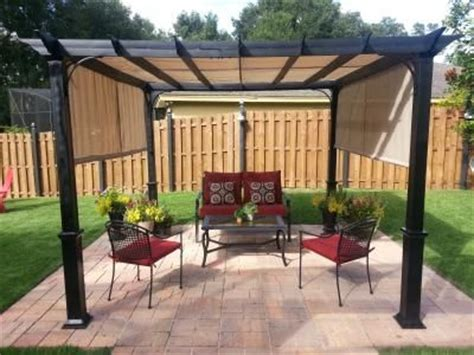 Pergola Design Ideas Pergola Kit Lowes Shop Garden Metal Pergola Lowes
