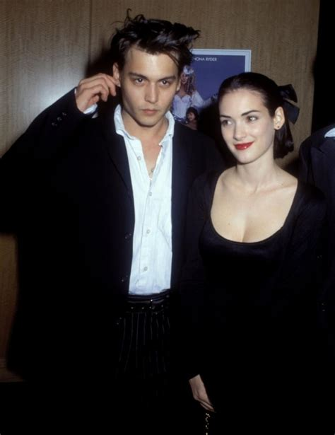 johnny depp winona ryder tattoo heard s engaged to johnny depp now out ny