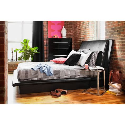 dimora black queen bed dimora queen upholstered bed black american signature