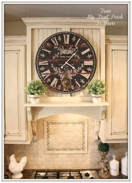 diy french farmhouse kitchen makeover 449 best decorating with clocks images on pinterest