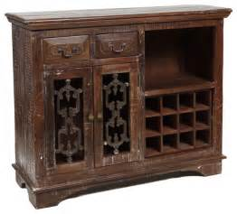 Wine Bar Cabinet Furniture Cambria Wine Cabinet 54 Quot Traditional Wine And Bar Cabinets Los Angeles By Zin Home