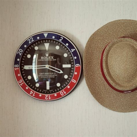 Rolex GMT Master II Wall Clock