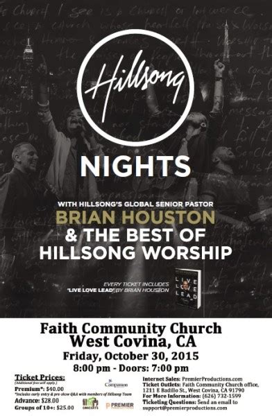 hillsong nights west covina ca 2015