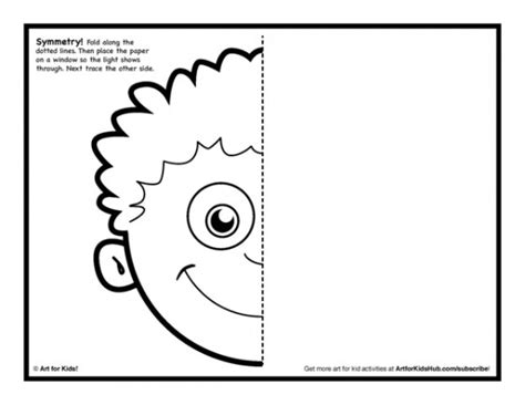 drawing activities symmetry activity 5 free coloring pages for