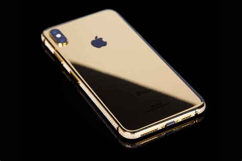 gold iphone xs cluster 5 8 quot 24k gold edition goldgenie international