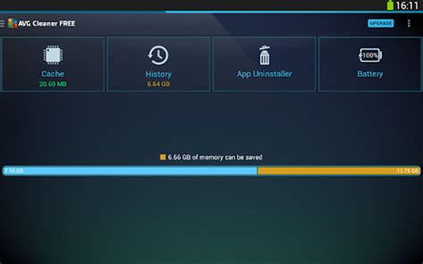 avg cleaner – memory & storage screenshot thumbnail