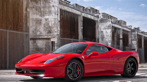 Ferrari 458 Italia 4K Ultra HD wallpaper   4k Wallpaper.Net