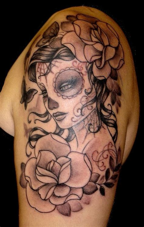 51 ultimate sugar skull tattoos amazing ideas