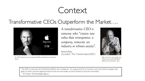 The Value Of An Executive Mba by Transformational Value Creation Guest Lecture For