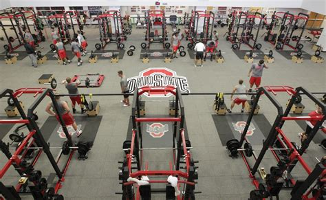 a look at ohio state s 20 million locker room eleven