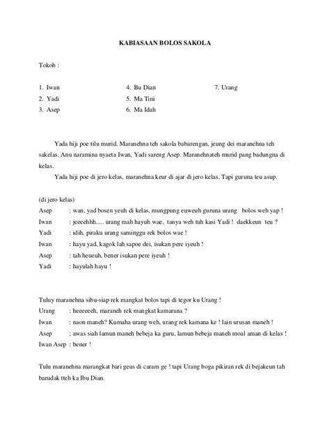 Contoh Naskah Drama Bahasa Sunda Untuk 4 Orang Rabu 09 Mei 2012 | contoh drama wayang bahasa sunda contoh three