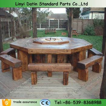 railway sleeper wooden outdoor furniture russia pine wood