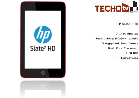 HP Slate 7 HD tablet Full Specifications, Price in India
