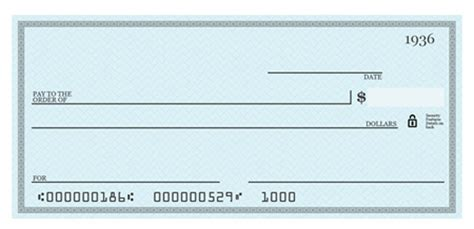 Bank Cheque Bank Cheque Template Editable Editable Blank Check Template