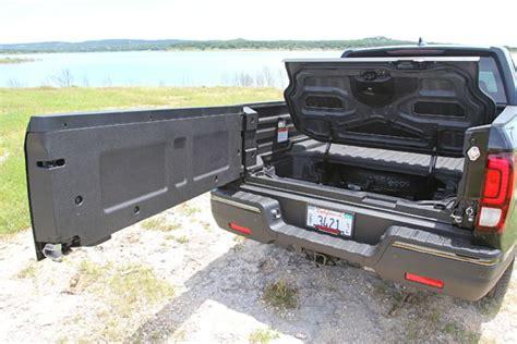 honda truck tailgate 08 2017 honda ridgeline swing open tailgate photo