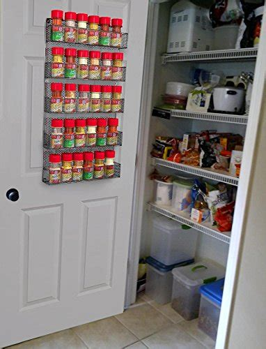 Wall Mounted Pantry Storage Rack by Spice Rack Organizer Country Rustic Wire Style Great