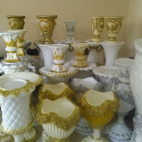 vas bunga fiberpot fiber dekorasijual pot bunga fiber