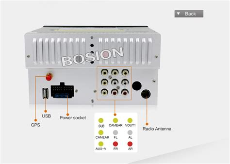 bosion 6 2 inch din wiring diagram 41 wiring