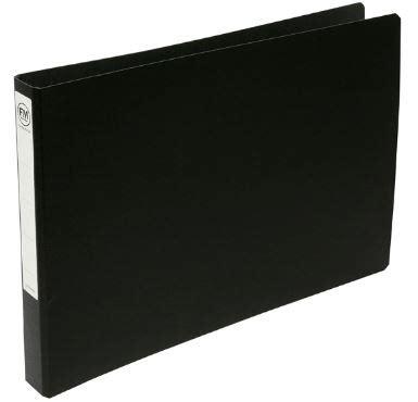 Binder America 26 Ring file master a3 oblong trunkboard 2 26 ring binder black elive nz