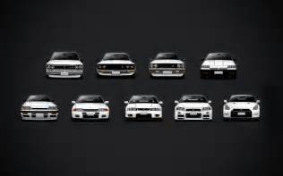 Nissan Gtr History Put Together A Gt R History Wallpaper Just For You