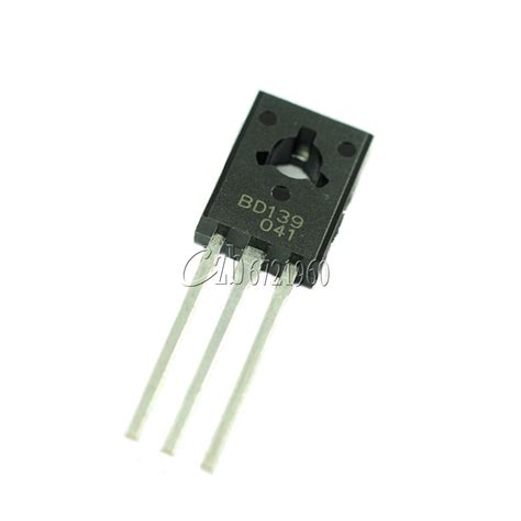 bd139 power transistor 20pcs bd139 to 126 npn 80v 1 5a power transistors ebay