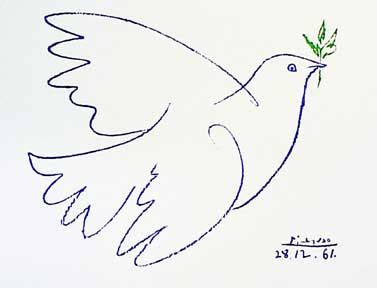 picasso paintings dove picasso s doves bird watcher s diary