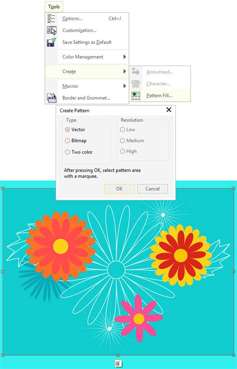 create pattern fill coreldraw how to use the distort tool in coreldraw