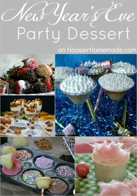 new year dessert food recipes new year s dessert appetizers and hoosier