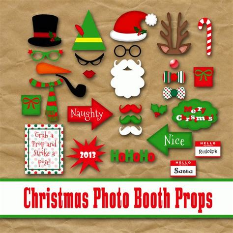 printable ugly sweater photo booth props 25 unique christmas photo booth props ideas on pinterest