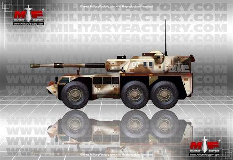 denel gv renoster  rhino  wheeled  propelled artillery spa south africa