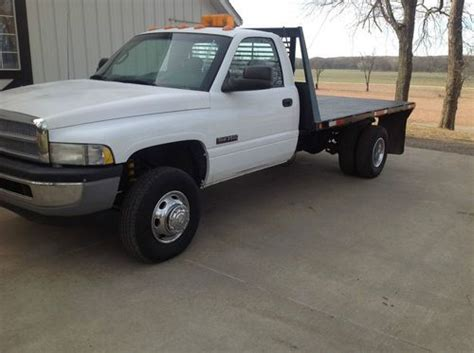 dodge ram 3500 truck bed for sale find used 2001 dodge ram 3500 dually flat bed diesel 2wd