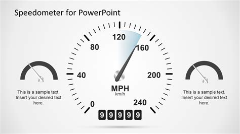 Animated Dashboard Speedometer Template For Powerpoint Slidemodel Powerpoint Speedometer Template