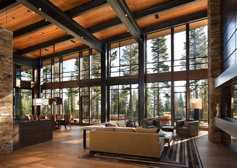 modern mountain home plans fabulous mountain modern retreat in the high sierras