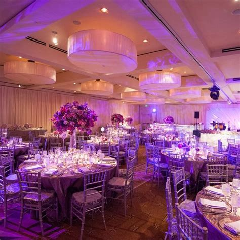 Purple reception // photo by: Amelia Tarbet Photography