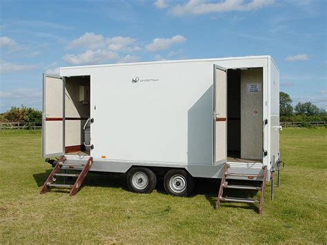 bathroom trailer for sale secondhand toilet units 2 2 toilet trailers 2 2