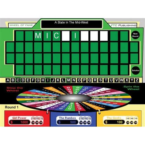 Wheel Of Fortune Wheels And Classroom On Pinterest Wheel Of Fortune Classroom