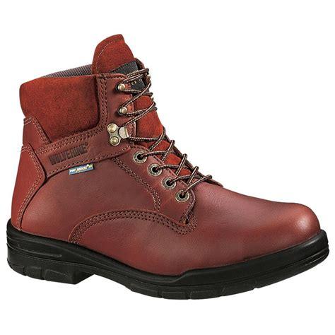 wolverine durashock boots s wolverine 174 durashocks 174 sr 6 quot boots brown 87985