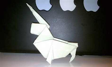 Origami Unicorn Easy - the unicorn daily news craft project make your own