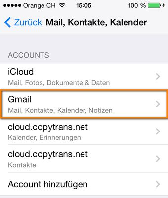 yahoo mail zugangsdaten mail kontakte kalender konto am iphone oder ipad