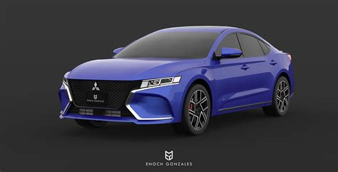 2020 Mitsubishi Galant by 2020 Mitsubishi Galant Visualize Rebirth Of Mid Size Sedan