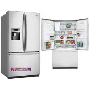 French Door Fridge With Ice And Water Dispenser - whe7670sa westinghouse fridge the electric discounter