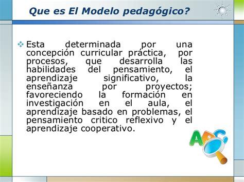 Modelo Curricular Pedagogico Modelo Pedag 243 Gico Fcecep