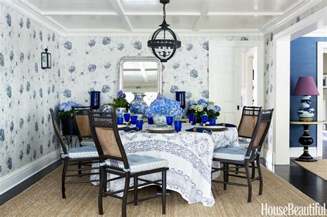 House Beautiful Dining Rooms 5 Take Away Tips A Modest Cozy Colorful House The Inspired Room