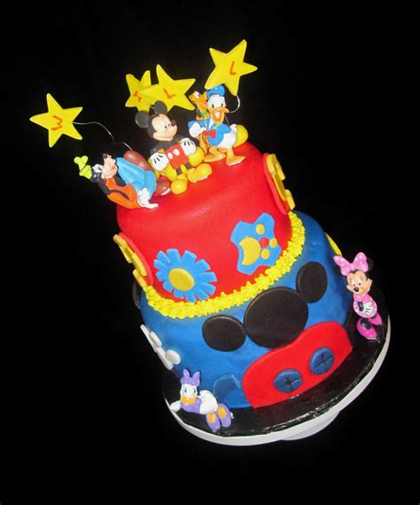 Mickey Mouse Club House Birthday Cake Danville KY   The